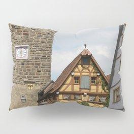 Rothenburg ob der Tauber Impression Pillow Sham