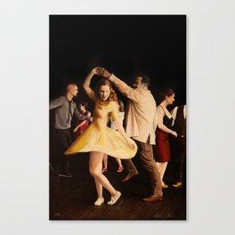 The Lindy Hop Party Canvas Print