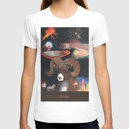 Aries - Zodiac Wildlife Series T-shirt
