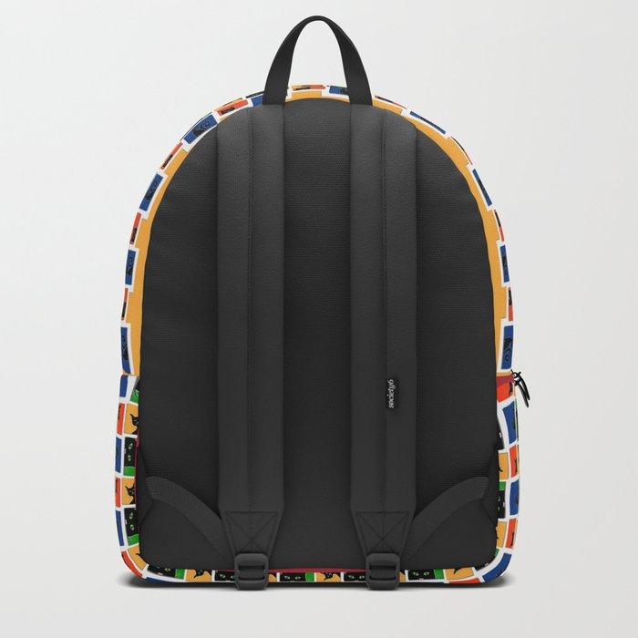 Cats in Squares Backpack