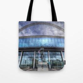 Wembley Stadium London Tote Bag