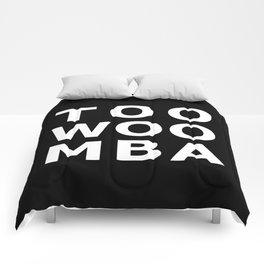 TOOWOOMBA Typography Comforters
