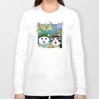 3d Long Sleeve T-shirts featuring 3D by Tummeow