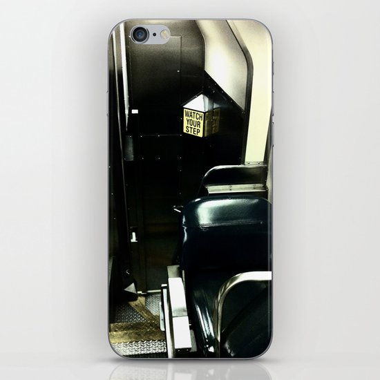 Watch Your Step iPhone Skin