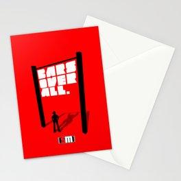 Hangin`Sideways Stationery Cards