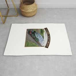 Flying Scotsman and Nameplate Rug