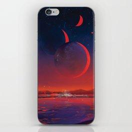 NASA Retro Space Travel Poster #13 - TRAPPIST-1e iPhone Skin