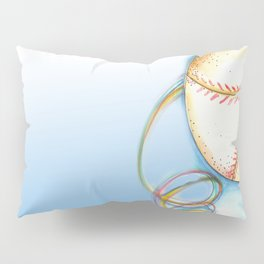 Love Baseball Pillow Sham