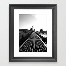 South Tacoma scenery Framed Art Print