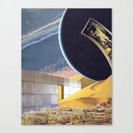 Drift Fixation Canvas Print