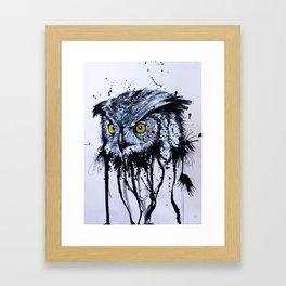 OVO OWL Framed Art Print