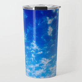 Whispy Clouds Travel Mug