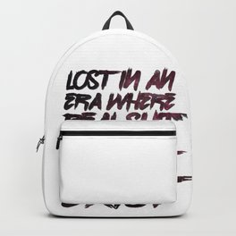 Lost in an Era Backpack