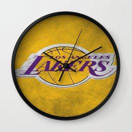 Los Angeles Laker Wall Clock