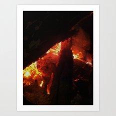 Bonfire~takibi~ Art Print
