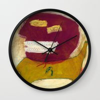 hero Wall Clocks featuring Hero by Sasa Jantolek