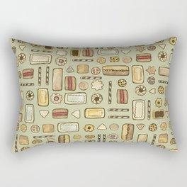 cookies green Rectangular Pillow
