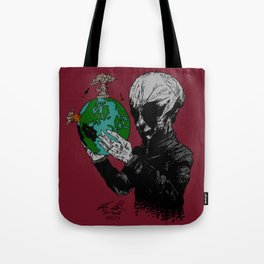 Aril Observes Our World - For Print Tote Bag