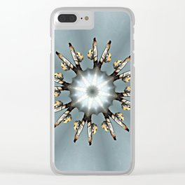 Valve Wheel - simple Clear iPhone Case