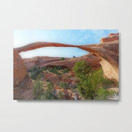 Arch Rival Landscape Metal Print