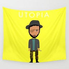 Wilson Wilson de Utopía Wall Tapestry