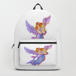 The Antique Angel Muse - Love of Poetry Backpack