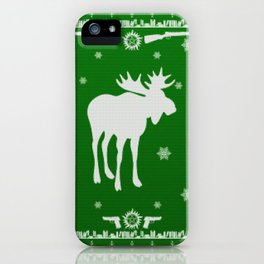 Supernatural Sam Holiday Sweater iPhone Case