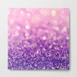 Fizzy Grape Metal Print