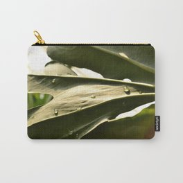 Sun Lit Green Life Carry-All Pouch