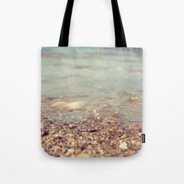 Bubbles on the Beach Tote Bag