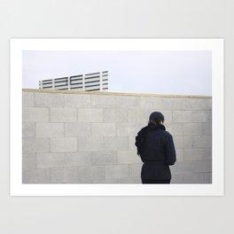 //2 Art Print