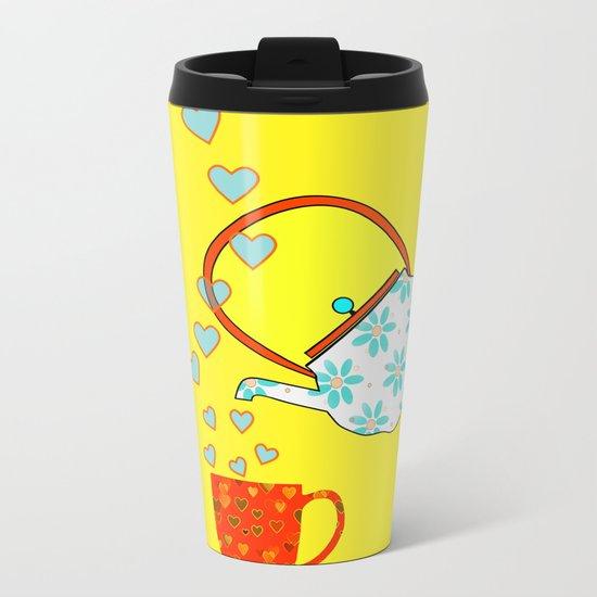 A Nice Cup Of Tea Metal Travel Mug