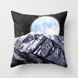 Bright Moon Throw Pillow