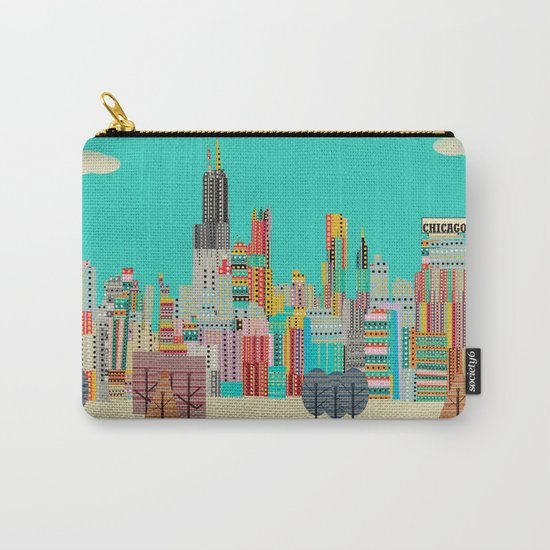 Chicago city (summer days) Carry-All Pouch