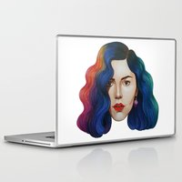 marina and the diamonds Laptop & iPad Skins featuring Marina by Cannibal Malabar
