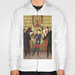 Columbus and the Egg Story; anyone can do anything with the right skill set portrait by Nils Dardel Hoody