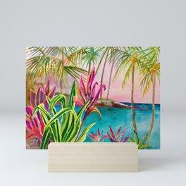 Mauna Lani Beach Mini Art Print