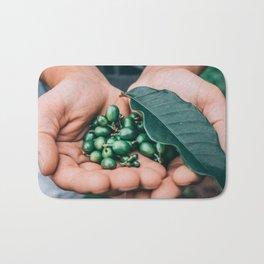 fresh Cofee beans Bath Mat