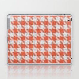 Tomato Buffalo Plaid Laptop & iPad Skin