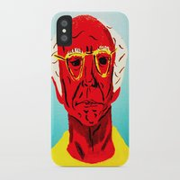 larry david iPhone & iPod Cases featuring Larry David 4 by Alyssa Underwood Contemporary Art