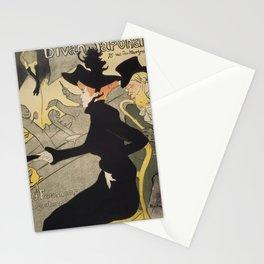 Divan Japonais - Henri de Toulouse Lautrec Stationery Cards