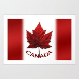 Canada Flag Souvenirs Art Print
