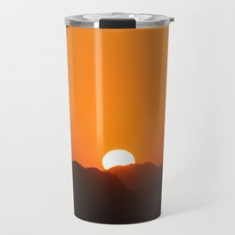 Mountains Sundown Travel Mug
