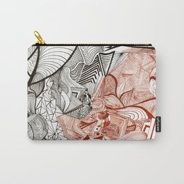 Spilled ink Carry-All Pouch