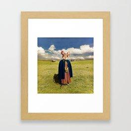 Little Mouse on the Prairie Framed Art Print