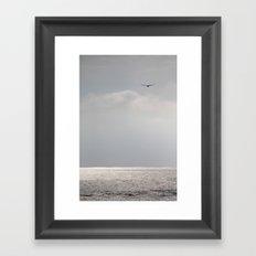 sea. Framed Art Print
