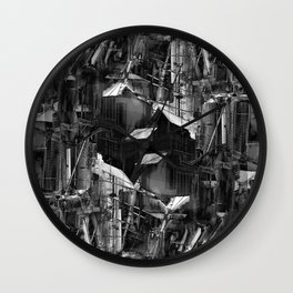 Post-Modern Industrial Complex:  The Art of Regressing Wall Clock
