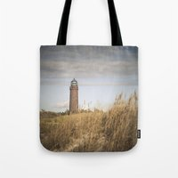 lighthouse Tote Bags featuring Lighthouse  by Maria Heyens