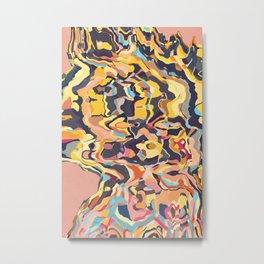 Hyenas Essence Metal Print