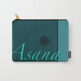Asana Blue Carry-All Pouch